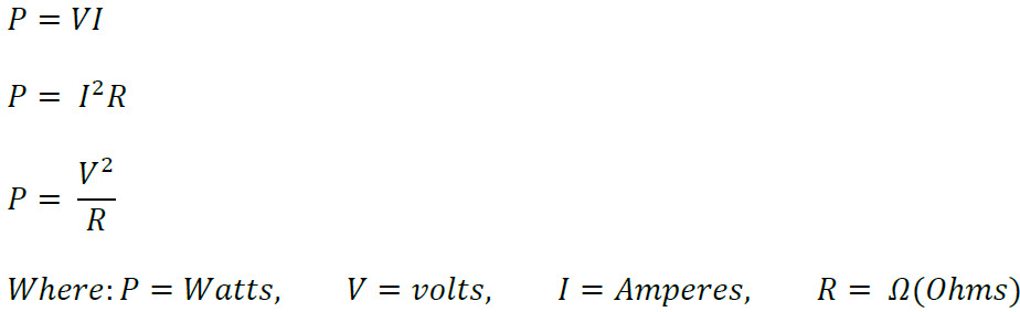Ohm's and Watt's Laws | SpazzTech